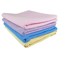 Cheap Wholesale-Pet Cleaning Products Generic PVA Deer Faux Fur Towel Absorbent Towel Dog Accessories