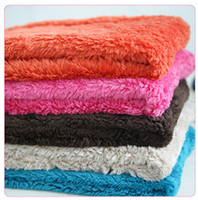 big lots blankets - lowest price warm soft coral velvet M cm L100 cm colors at random big dog pet blanket