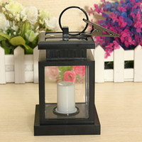 solar candle - Classic Outdoor Solar Power Twinkle Yellow LED Candle Light Yard Garden Decoration Umbrella Tree Lantern Hang Hanging Lamp