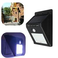 best solar landscape lights - Best Price Solar Power LED PIR Motion Sensor Light Outdoor Waterproof Garden Wall Lawn Landscape Yard Lamp