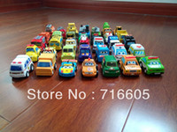 toy fire truck - HOT Children Pull Back Car Toys Racing Car Baby Police Car Fire Truck Children Mini Car Toys
