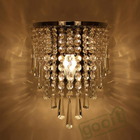 Wholesale Modern Crystal Chandelier Wall Light Lighting Fixture V E14 LED Ceiling Lights