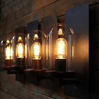 antiques lamps lighting - Retro Loft Style Industrial Edison Vintage Wall Light Lamp Antique Iron Edison Wall Sconce Lamparas De Pared