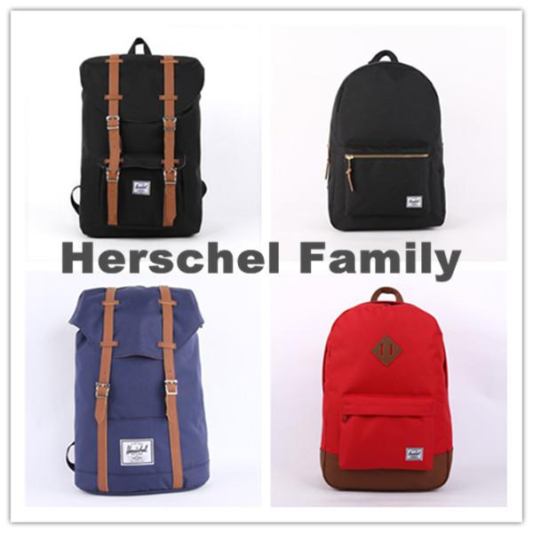 Wholesale Herschel Backpack Women Men Travel/Hiking/Laptop ...