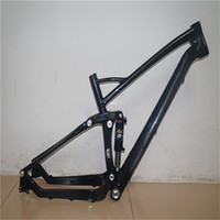 Wholesale MTB mountain bike chinese high quality full carbon fiber frame er full suspension frame for road bicycle RUSSIA FREE SHIP