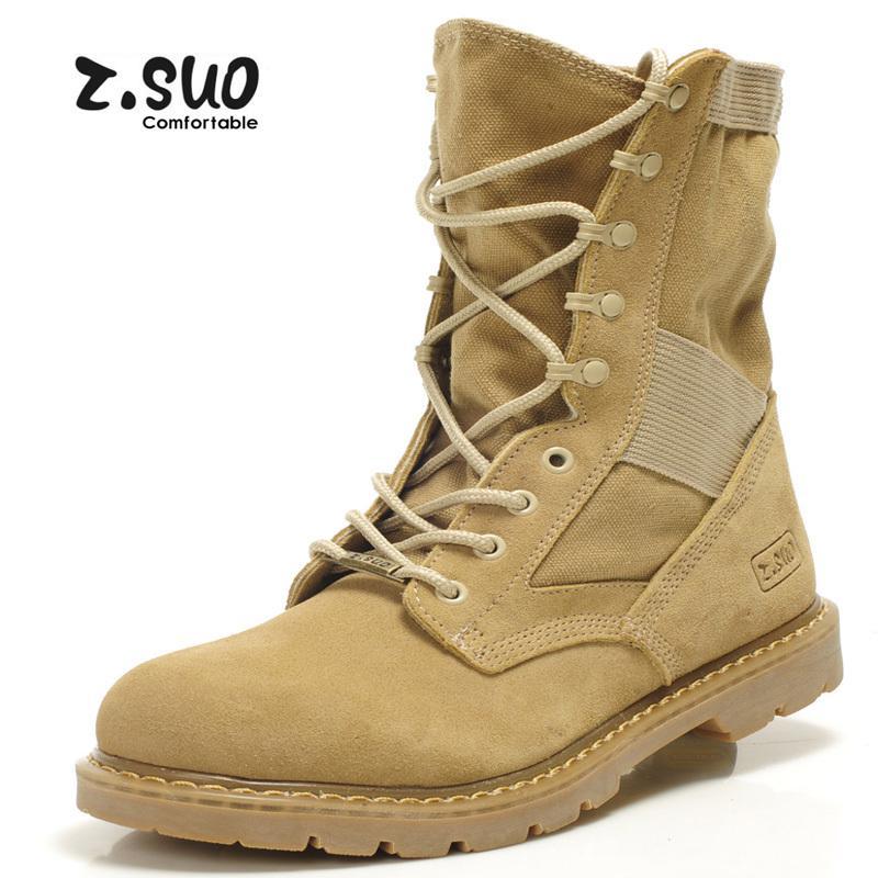 Wholesale British Style Men'S Desert Military Combat Boots Men ...