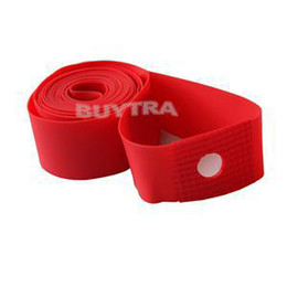 Wholesale New Bike Rubber Rim Tapes Wheel Spoke Inner Tube Protector quot cc Brand High Pressure Bicycle Inner Tube Pad