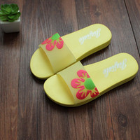 ladies slippers - New Summer home slippers women Shoes indoor Flower Lady s House Slippers Bath