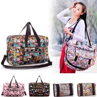 Wholesale Women Travel Bags Lesport Style Large Shoulder Bag Outdoor Sports Folding Luggage Bag Female Travel Handbags Duffle Bag B60