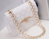 Wholesale Hot Sell Women Leather Peach Heart Chain Evening Messenger Handbag Shoulder Bag