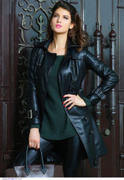 Discount Womens Long Leather Coats Sale | 2017 Womens Long Leather