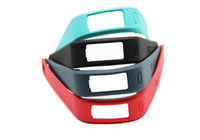 Wholesale Colors New Replacement Rubber Smart WristBand Strap Bracelet With Clasps For Garmin Vivofit No Activity Tracker