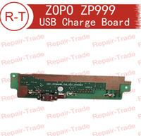 Wholesale ZOPO ZP999 USB Charge Plug Board With Mic Microphone Replacement For ZOPO ZP999 ZOPO X Cell Phones In Stock