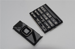 Wholesale For Nokia A arte dark Gold housing for Nokia arte black keypad for
