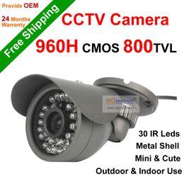 NGtechnic Hot promotion 800tvl CMOS 30 leds IR Outdoor & indoor Waterproof CCTV Bullet Mini Camera Security camera