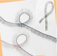 Wholesale Sale BJD Accesories Eyelashes For Reborn Dolls BJD Black amp Brown Eyelashes cm Length Dolls DIY Eye Lash Free