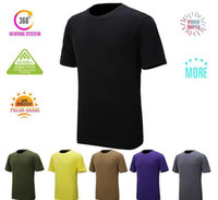 best mens running shorts - Best Quality Brand Running Fitness T Shirts Summer Tops Sport Shirt Quick Dry Mens Tee Shirt For Camping Hiking Outdoor