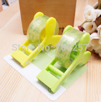 Wholesale Top Fashion Rushed Tape Cutter Cheap Price Transparent Dispenser Office Student Tools Gift Handheld
