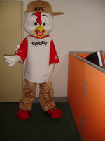 adult chicken suit - Professional chicken KFC mascot Fancy Dress Costume Adult Size EPE Suit mascot costume