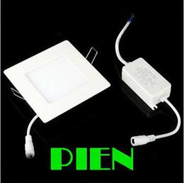 Оптово-4W панель водить вниз огни Ультратонкий площади Focos Lampara 2838smd 20 светодиодный светильник Плоский для ванной комнаты 5шт офиса Свободная перевозка груза / серия от Поставщики lampara панель