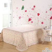 Wholesale Cotton stripe slanting bed sheets cotton single double meters bed meters bed