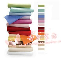 bedding measurements - Cotton twill satin cotton bed sheets single double hotel supplies customize measurement