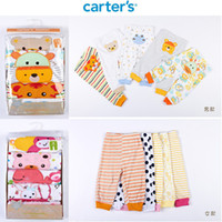 baby pants trade - New Arrival Carter set Embroidered Animals Pp Pants Of Foreign Trade Baby Pants Pure Cotton Trousers Leggings