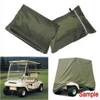 go cart - Passenger Golf Cart Cover Protect For EZ Go Club Car For Yamaha Cart Green x48x66 inch