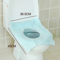 antibacterial toilet paper - Disposable Toilet Mat Travel Use Health Waterproof Antibacterial Toilet Seat Cover JM4509