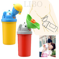 baby pot - new Baby portable urinal for men and women outdoor baby animal models urine leak urine bucket chamber pot