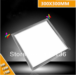 Wholesale Ultra thin led ceiling panel lights w super bright paneling light square shape lamp Square for home x300mm