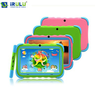 multi game - Kids Education Original iRulu Brand quot Tablet PC for kids Quad Core Dual Camera A7 Android GB Free Game Learn Grow Play
