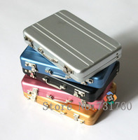alu case - Alu Mini Briefcase Password Business Bank Credit Card Case Holder