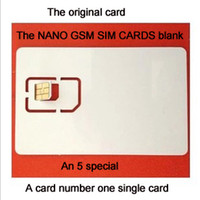 Wholesale SIM Cards amp special blank SIM card amp MicroSim card no amp single