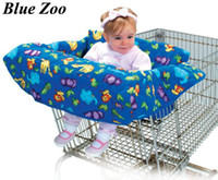 Wholesale Baby kid children shopping cart cover trolley cart cover shopping trolley seat cover cushion pad mat