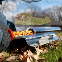 bbq fuel charcoal - Portable Solar Barbecue Stove Solar Cooker Compact Solar Stove Sport Edition Fuel Free Solar Oven Solar BBQ Grill