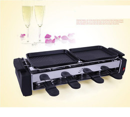 Wholesale Household electric barbeque grill heated oven Korean portable smokeless barbecue grill nonstick grills b