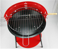 adjust grill - Super Deal Outdoor Camping Protable BBQ Grill Stainless Steel charbroiler adjust the height EuropeanTriangle barbecue Suit