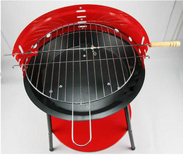 Wholesale Super Deal Outdoor Camping Protable BBQ Grill Stainless Steel charbroiler adjust the height EuropeanTriangle barbecue Suit