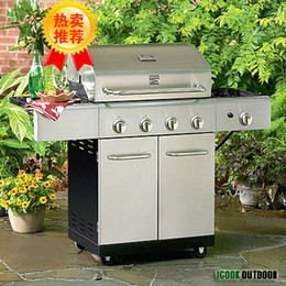 Wholesale Outdoor stainless steel grill BBQ household commercial barbecue meat rack bbq gas grill