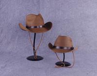 folding straw hat - Summer Men and Women Western Cowboy Hat Folding Straw Hat Belt Buckle Outdoor Beach Fishing Sun Cap