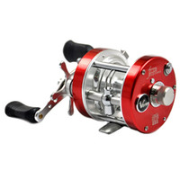 Wholesale Drum fishing reel left right hand BB baitcasting reels fishing reel Boat Wheel Round Baitcast vessels