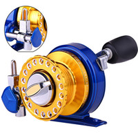 Wholesale New Arrival Fishing Reel Metal Spool Left Right Handle Wheel Spinning Reel Fish Line Wheel Fishing Gear Tckle