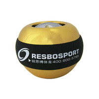Wholesale Luxury Metal Power Wrists Ball Brand Gyro Ball cm Force Ball Wrist Exercise Equipment Aparelhos de ginastica