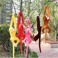 arm puppets - Hotest cm Arm Monkey Puppets Baby Toy Plush Hang Monkey Doll Hobbies Stuffed Birthdays Party Kids Gift TY095