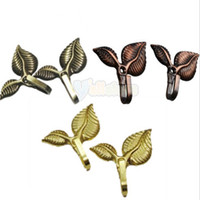 best draperies - Best Promotion Metal Leaves Shape Drapery Tie Back Tiebacks Curtain Clothes Hook Hanger