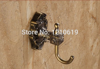antique clothing patterns - Newly US Solid Brass Carved Pattern Clothes Hanger Antique Brass Towel Hat Hook Wall Mounted