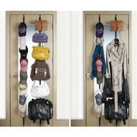 best plastic hangers - Novelty Straps Hanger Adjustable Over Door Hat Bag Clothes Rack Holder Organizer Hooks Best Deal