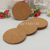 cork coasters - Round shape Plain Cork Coasters Drink Wine Mats Cork Mats Drink Wine Mat cm cm ideas for wedding and party gift