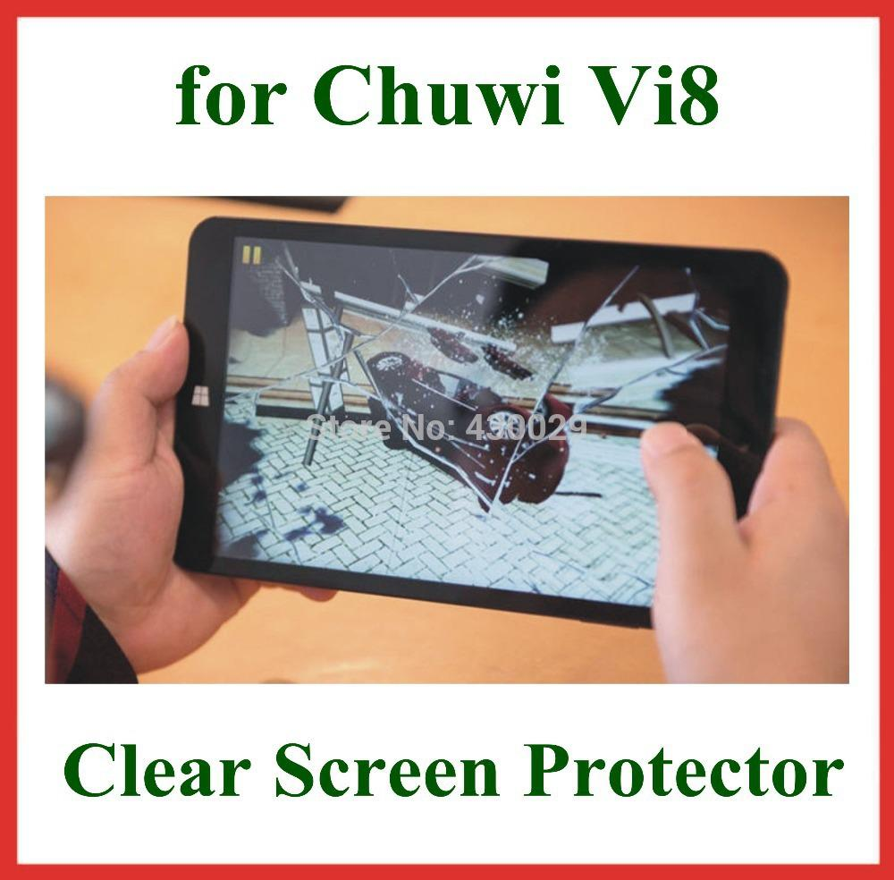 Buy -1Clear LCD Screen Protector Protective Film Chuwi Vi8 Tablet PC 8 inch Retail Package Size 202.5*116.3mm
